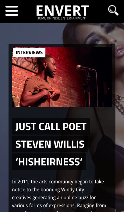 Read the full interview with poet Steven Willis here => envertent.com/2fQ5oqf