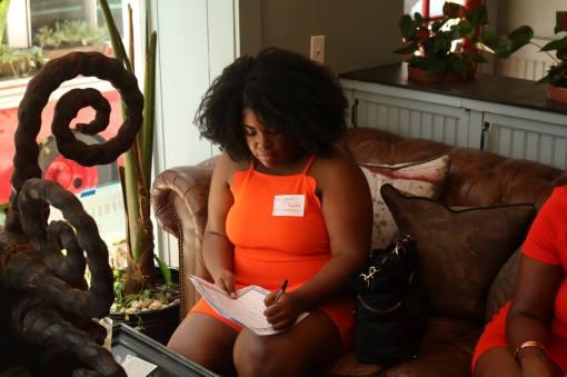 Flisadam Pointer at Black Girls Starter Kit Interactive Workshop on 07222017 at Freetown Cafe in Newark NJ by Aziz Ramos
